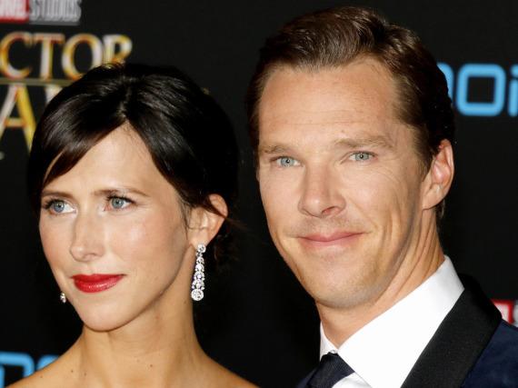 Benedict Cumberbatch und Sophie Hunter bei der Weltpremiere von