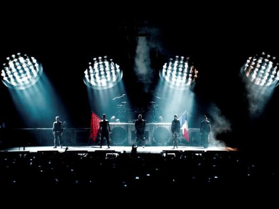 Begeistern mit ihren martialischen Shows die Fans auf der ganzen Welt: Rammstein