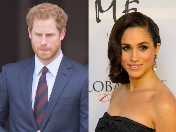 Wohnen Prinz Harry und seine Freundin Meghan Markle bald gemeinsam in London?