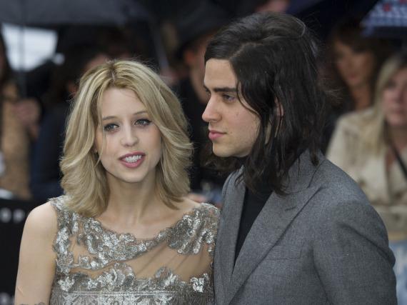 Thomas Cohen mit seiner verstorbenen Frau Peaches Geldof