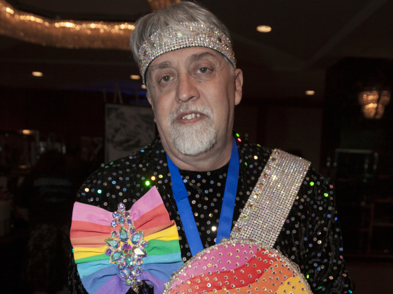 Gilbert Baker auf einem Event in New York