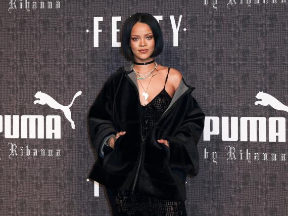 Rihanna bei der Vorstellung ihrer neuesten