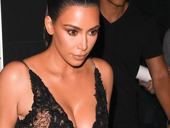 Kim Kardashian bei einem Auftritt in New York