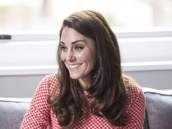 Herzogin Kate ist ein wenig Spaß nicht abgeneigt
