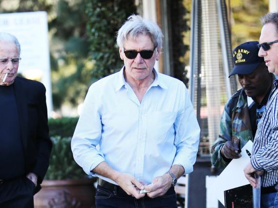 Harrison Ford ist noch einmal mit einem blauen Auge davongekommen