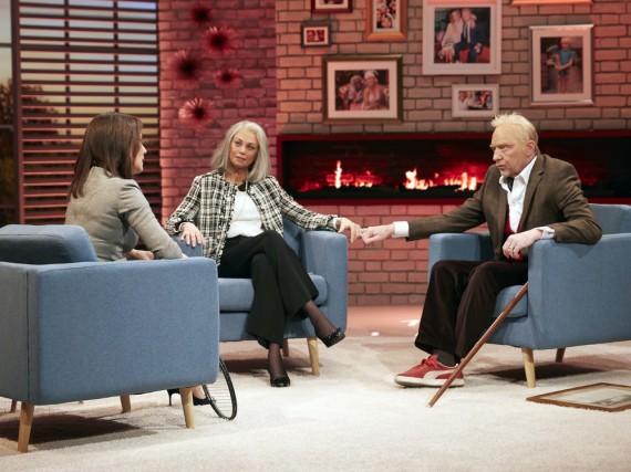 Sichtlich gealtert: Boris und Lilly Becker im Gespräch mit Désirée Nosbusch