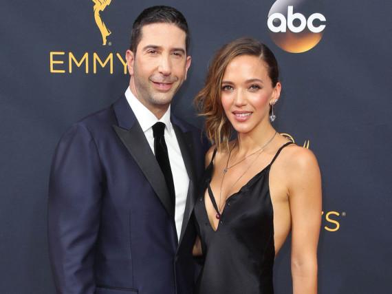 David Schwimmer und Zoe Buckman bei den Emmy Awards 2016