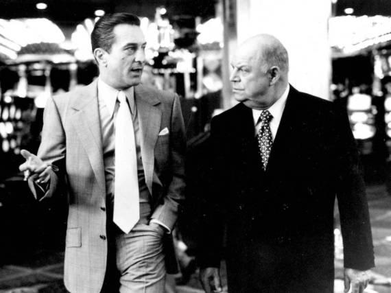 Don Rickles (r.) mit Robert De Niro in Martin Scorseses Film