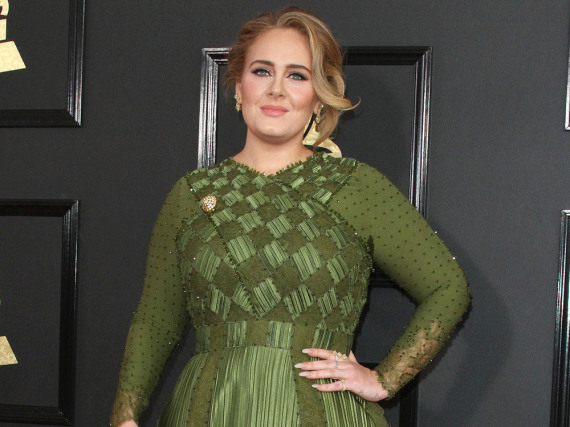 Adele bei den Grammy-Awards in Los Angeles
