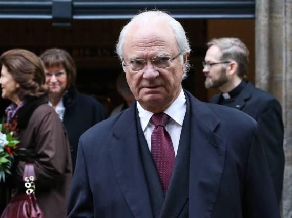 Ist in Gedanken bei den Opfern: König Carl XVI. Gustaf