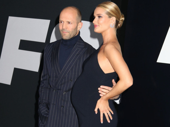 Jason Statham und Rosie Huntington-Whiteley bei der Premiere von