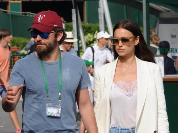 Seltener gemeinsamer Auftritt: Bradley Cooper und Irina Shayk im Juli 2016 beim Wimbledon Turnier