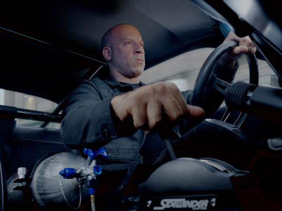 Vin Diesel alias Dom in