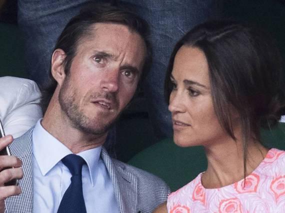 Pippa Middleton und ihr Verlobter James Matthews