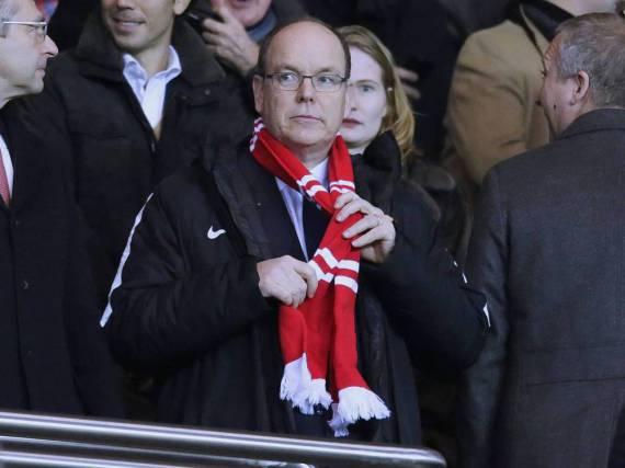 Fürst Albert II. ist der berühmteste Edelfan des AS Monaco