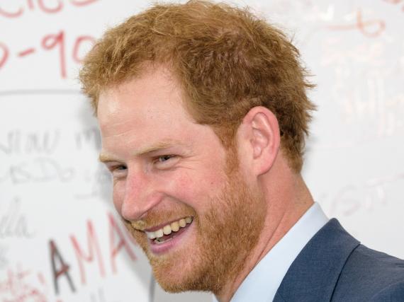 Prinz Harry ist für die Osterfeiertage zu seiner Freundin Meghan Markle geflogen