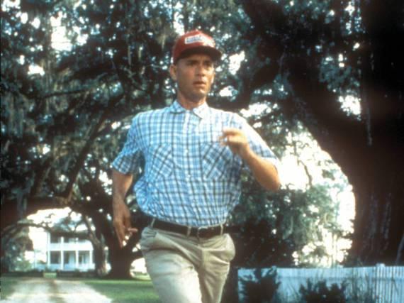Tom Hanks als Forrest Gump im gleichnamigen Film aus dem Jahr 1994