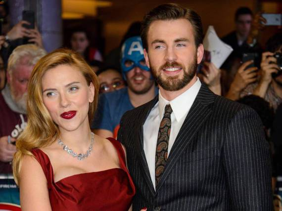 Sind seit über zehn Jahren befreundet und jetzt soll es gefunkt haben: Scarlett Johansson und Chris Evans