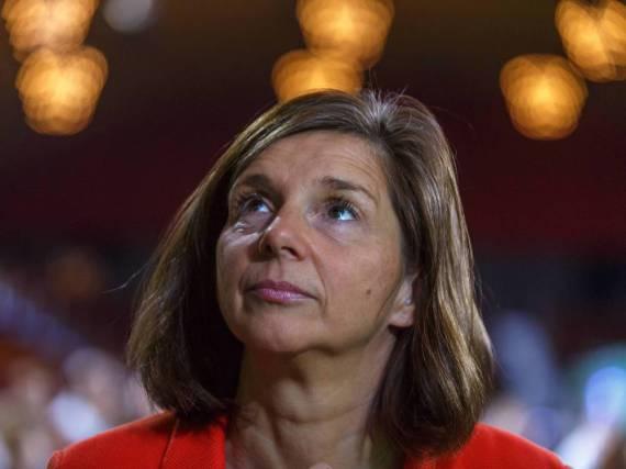 Katrin Göring-Eckardt hat einen neuen Partner an ihrer Seite