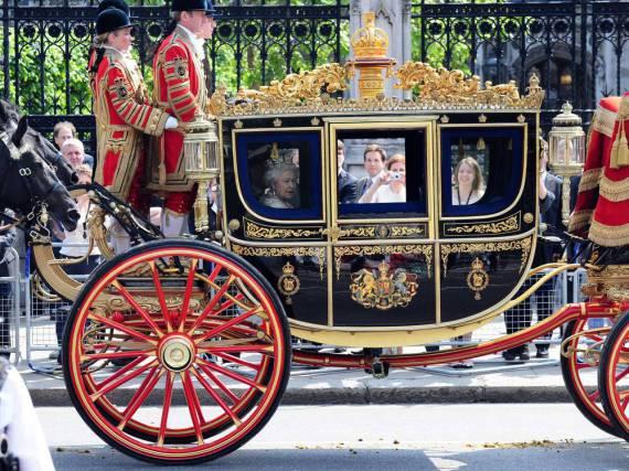 Mit diesem prachtvollen Gefährt würde Donald Trump zu gerne durch London fahren