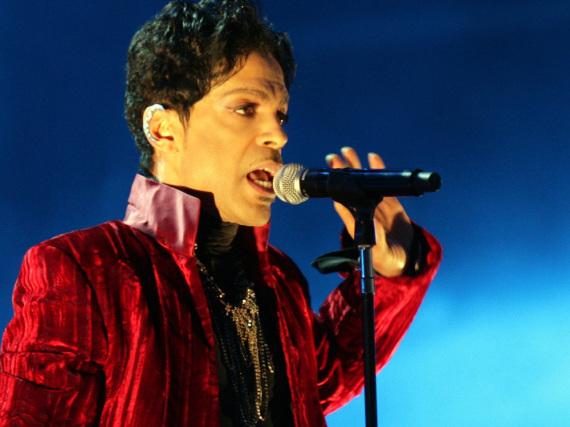 Prince bei einem Auftritt in Budapest, 2011