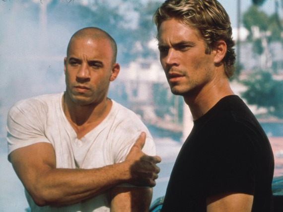 Vin Diesel (l.) und Paul Walker in