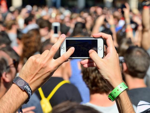 Erst ein Foto schießen und schwupps ist das iPhone weg?
