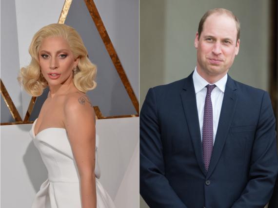 Lady Gaga und Prinz William tun sich für die Kampagne Heads Together zusammen